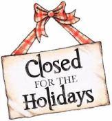 holidays-closure