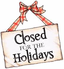 holidays-closure